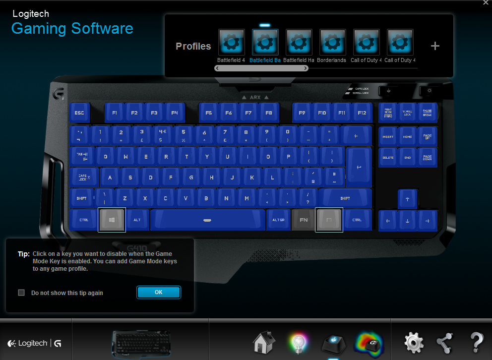 logitech g410 software4
