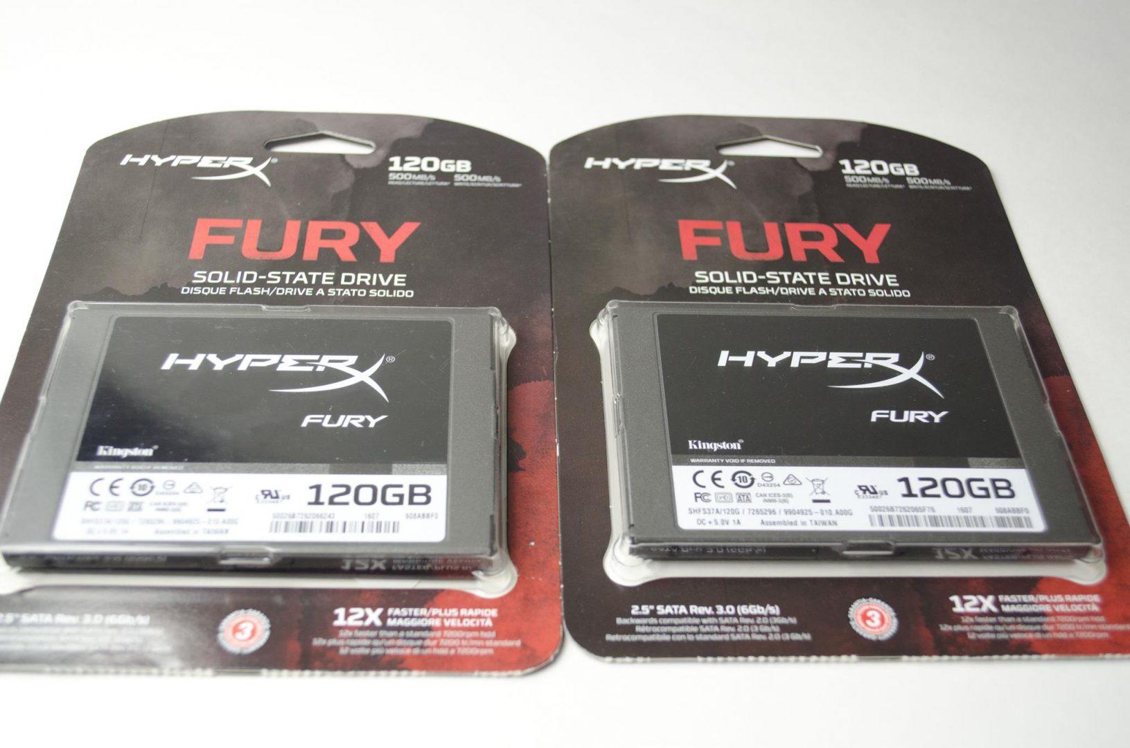 HyperX Fury SSD 120GB