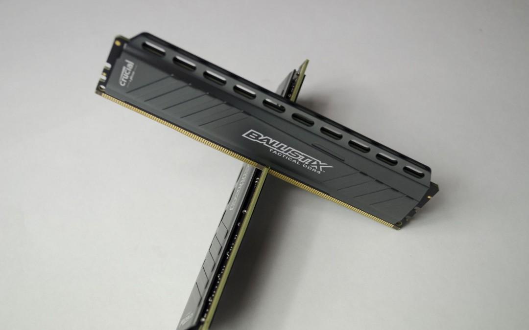 Crucial Ballistix Tactical 2666MHz 16GB (2x8GB) DDR4 Memory Review