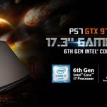 GIGABYTE introduces the all-new P57 laptop along with its full Skylake lineup at CES 2016