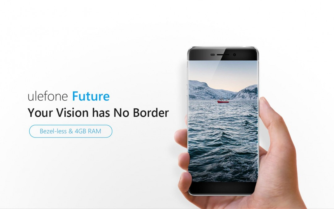 Ulefone Announces Bezel-less Flagship Device Ulefone Future