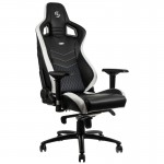 Overclockers UK stocks noblechairs, a new gaming chair brand featuring the world's first with exquisite real leather covering!