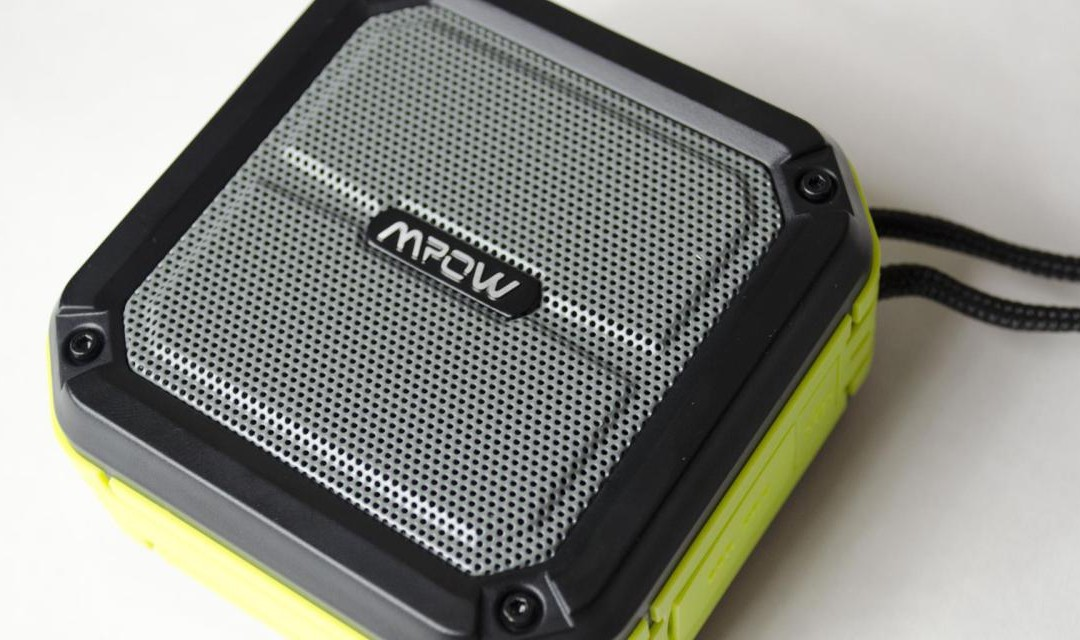 MPOW AQUAPRO PORTABLE IPX7 WATERPROOF WIRELESS BLUETOOTH SPEAKER REVIEW