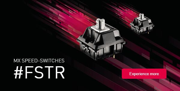CHERRY Releases New SPEED MX Switch