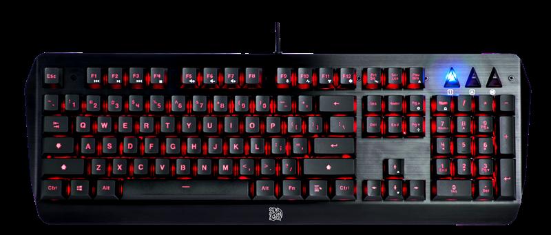 Tt eSPORTS CHALLENGER EDGE Membrane Gaming Keyboard- 1
