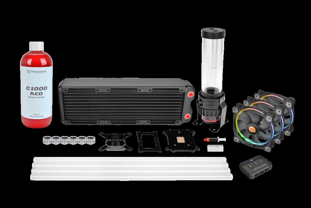 Thermaltake Pacific RL360 D5 Hard Tube RGB Water Cooling Kit_1