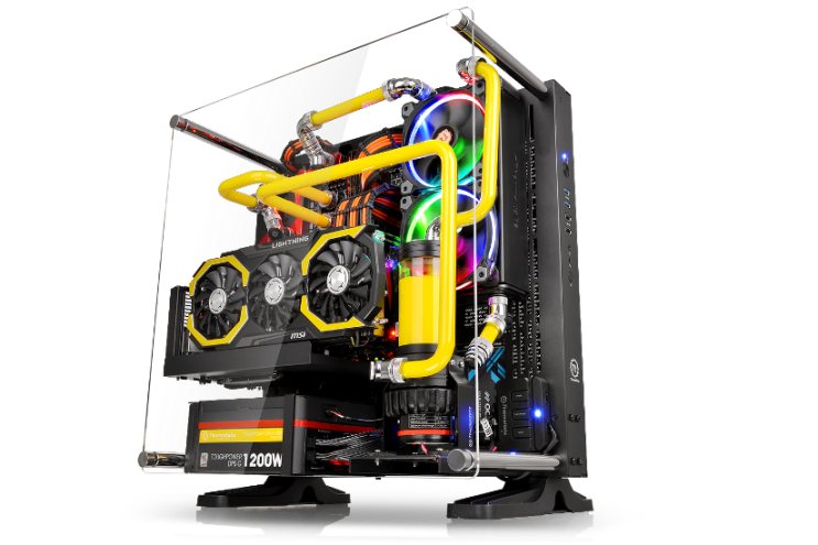 Thermaltake Core P3 ATX Chassis – Snow White and Black Edition