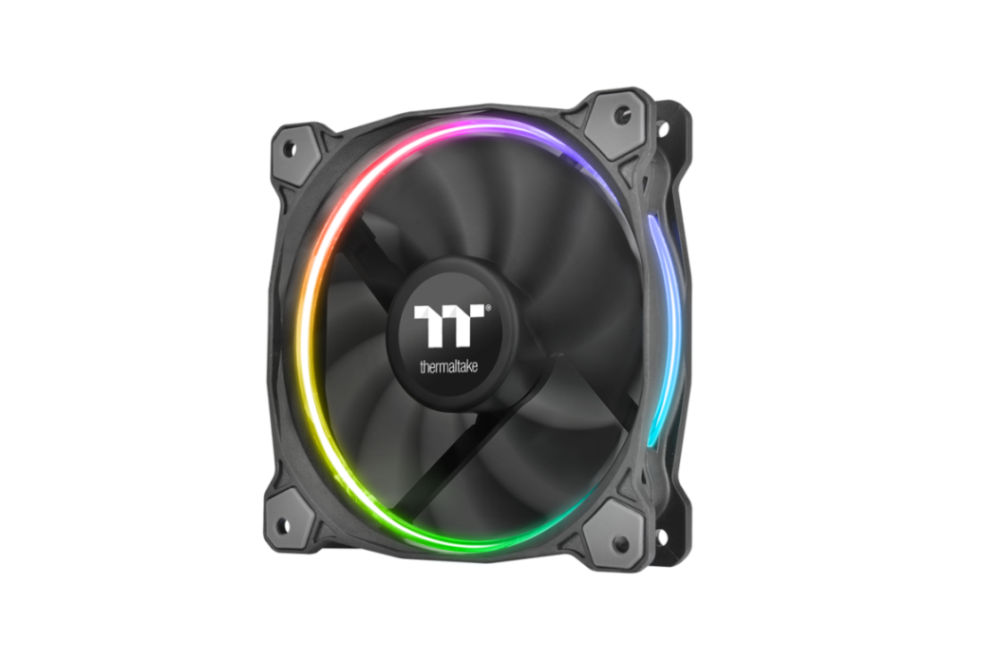 Thermaltake Riing LED RGB Radiator Fan TT Premium Edition_ 1