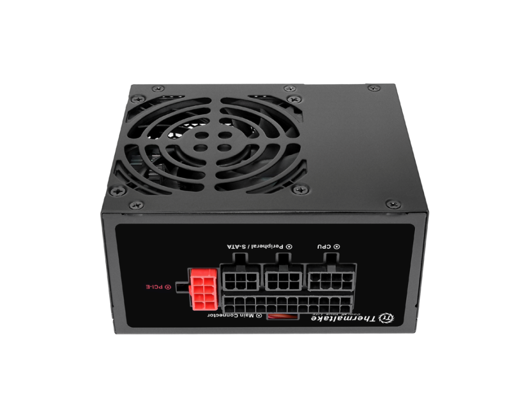 Thermaltake Toughpower SFX Gold 600W Power Supply Unit-Fully Modular Low-Profile Flat Cables