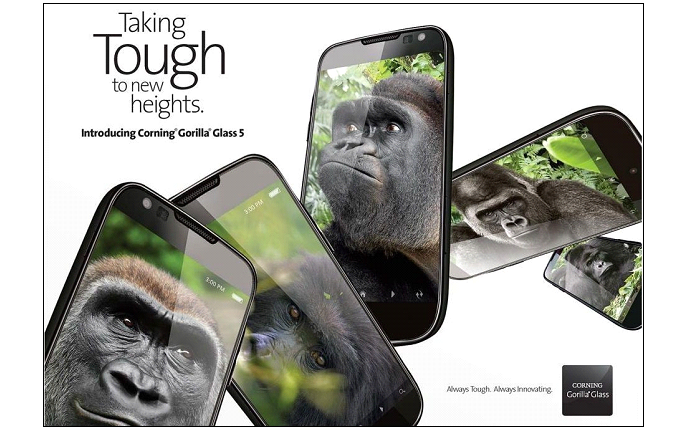 Corning Announces Gorilla Glass 5