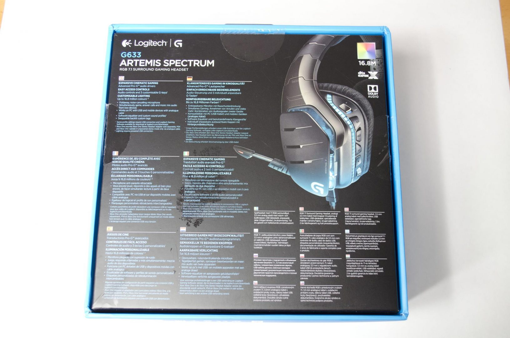 Logitech G633 artemis spectrum rgb 7.1 surround gaming headset review_1