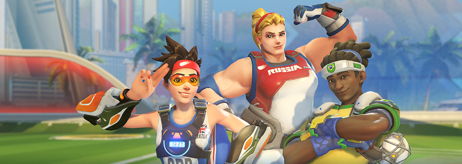 Overwatch: WELCOME TO THE SUMMER GAMES