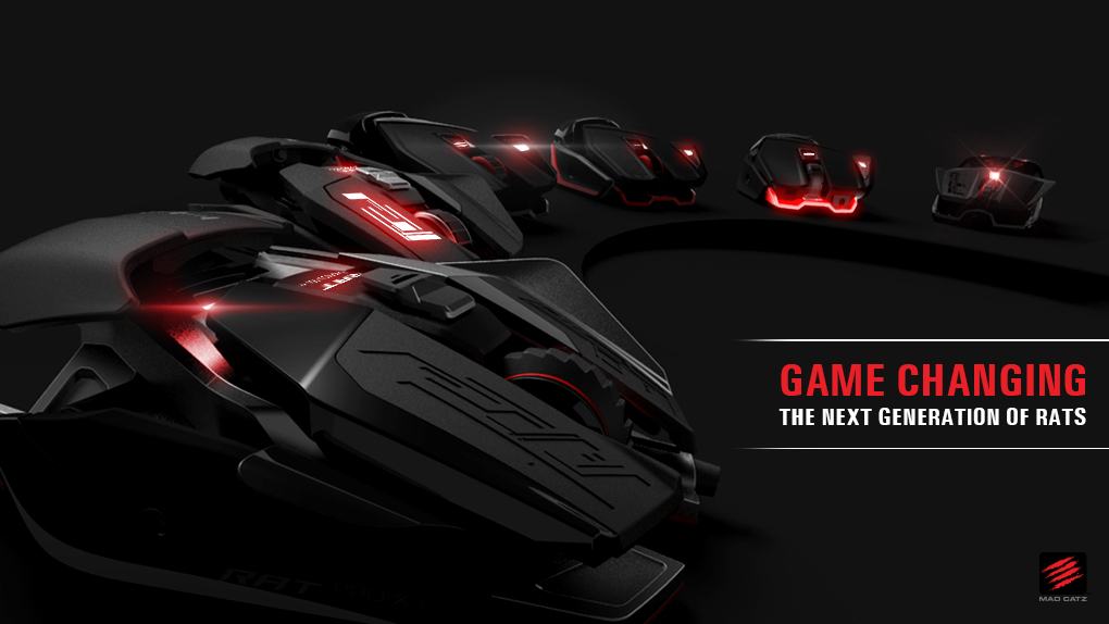Mad Catz® Announces New Range of RAT™ Gaming Mice