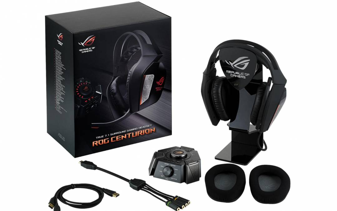 ASUS Republic of Gamers Announces Centurion Headset