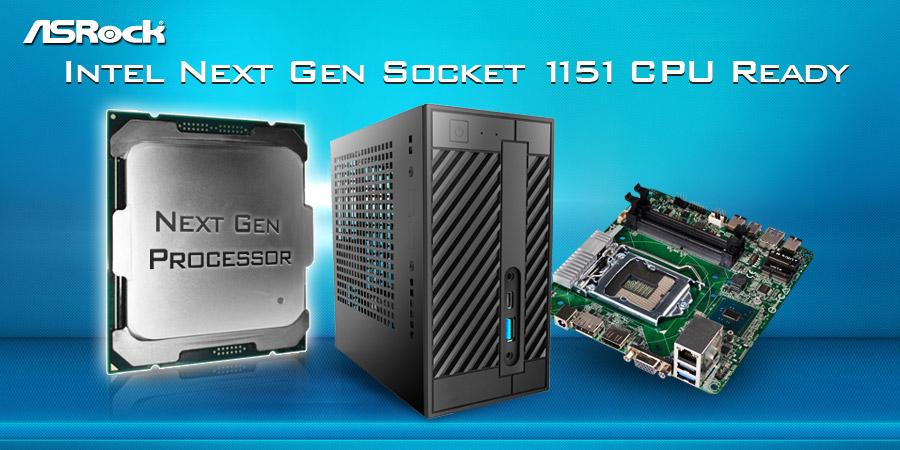 ASRock Takes Intel Next Generation CPUs to DeskMini 110 Barebone Series and H110 Mini-STX Motherboard
