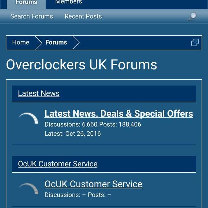 Overclockers UK Mobile Friendly Forum Coming Soon?