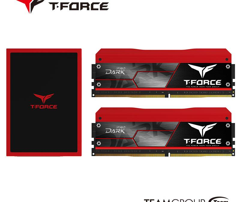 Meet The Team Group T-FORCE Series