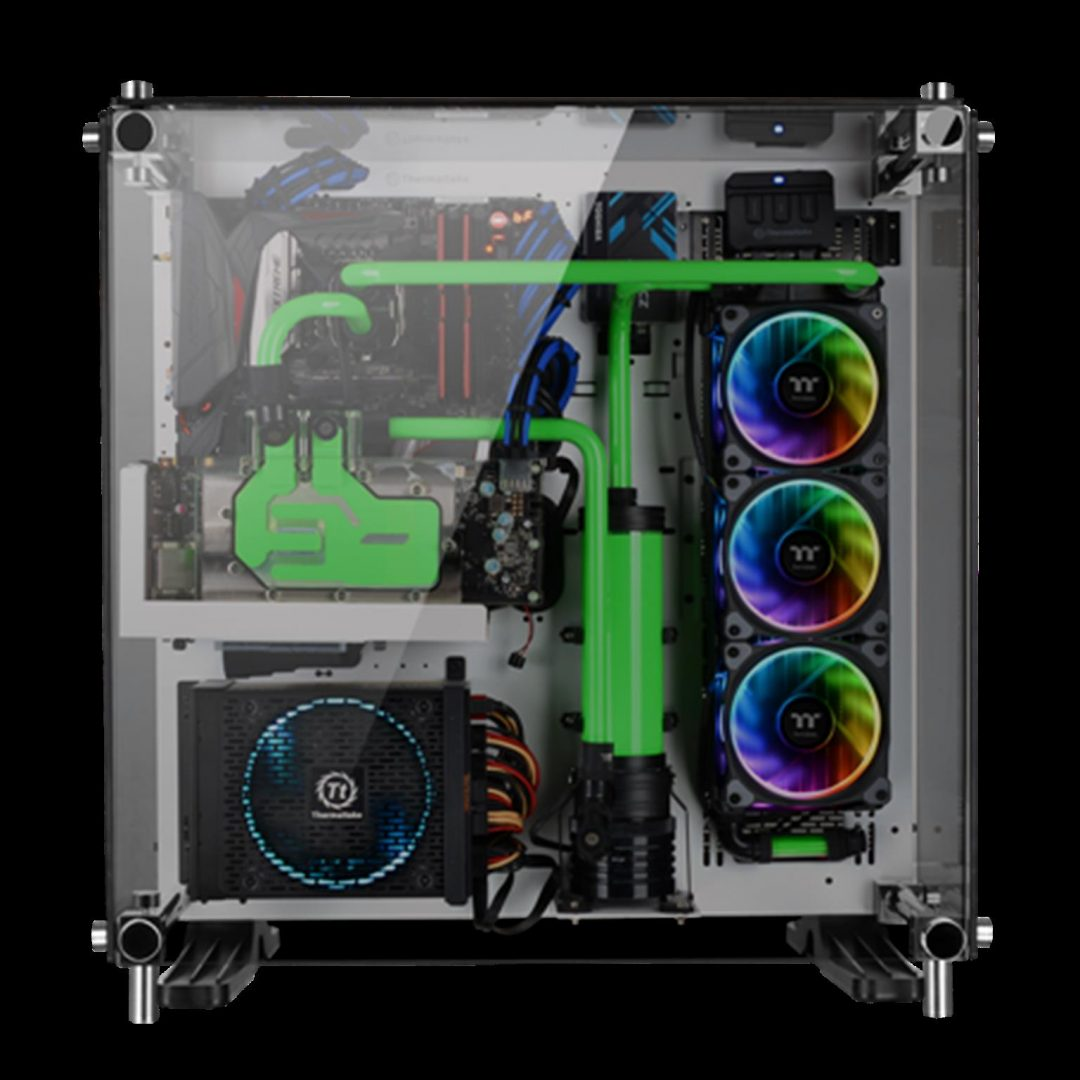 Thermaltake New Riing Plus 12 LED RGB Radiator Fan_3