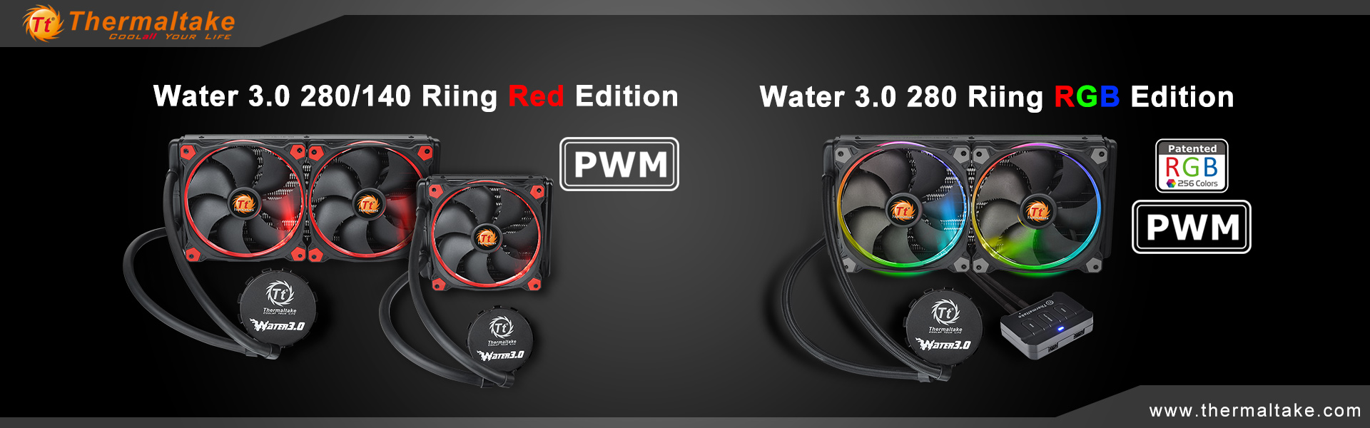 thermaltake-release-water-3-0-riing-rgb-and-red-all-in-one-liquid-cooler
