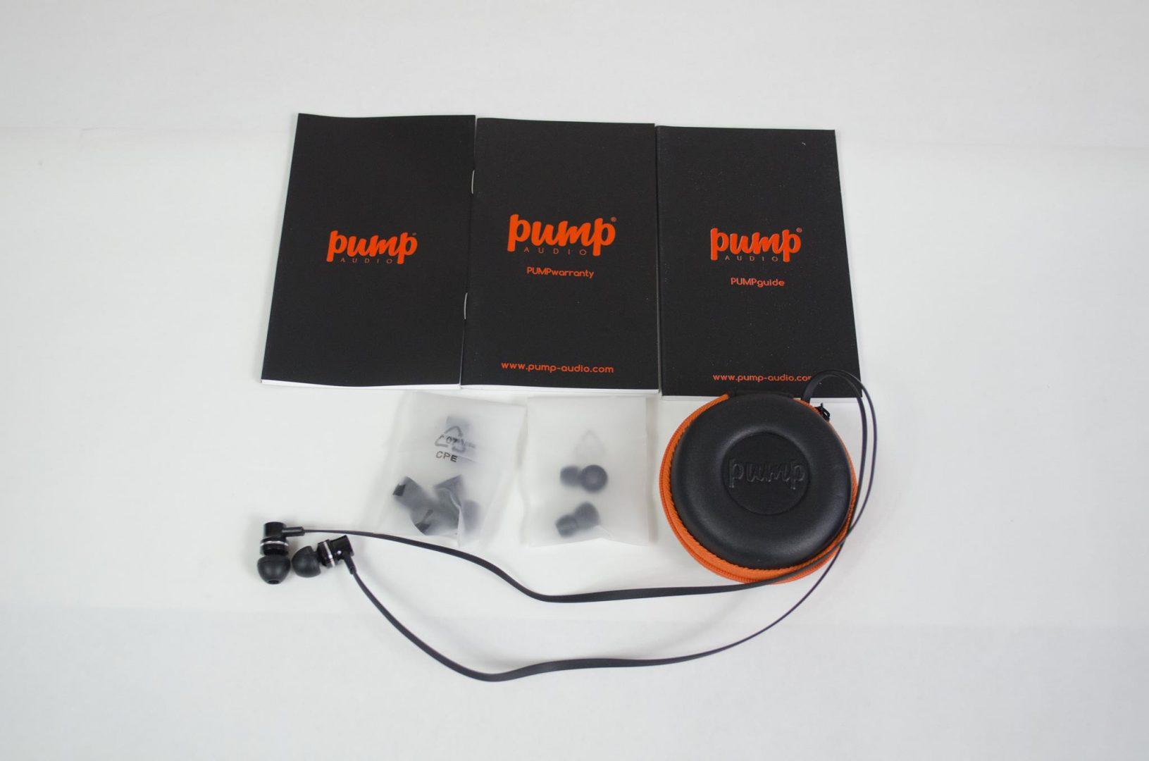 pump audio earphones review _3