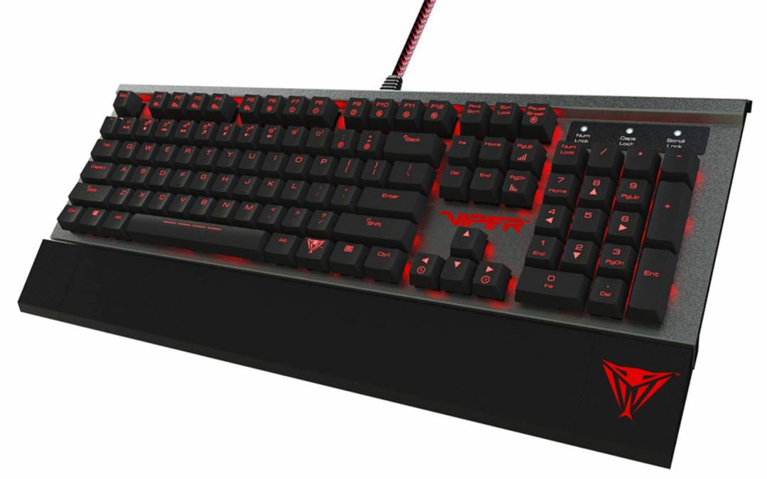 Patriot Announces V770 RGB and V730 Mechanical Gaming Keyboards