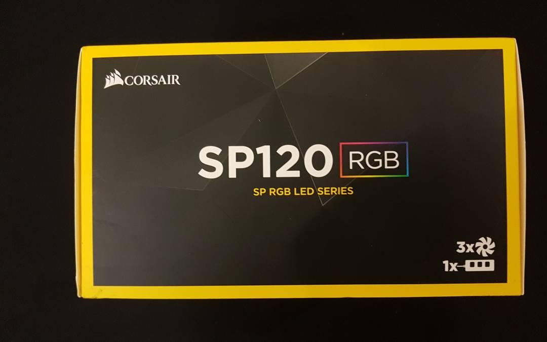 Corsair SP120 RGB Fans Review