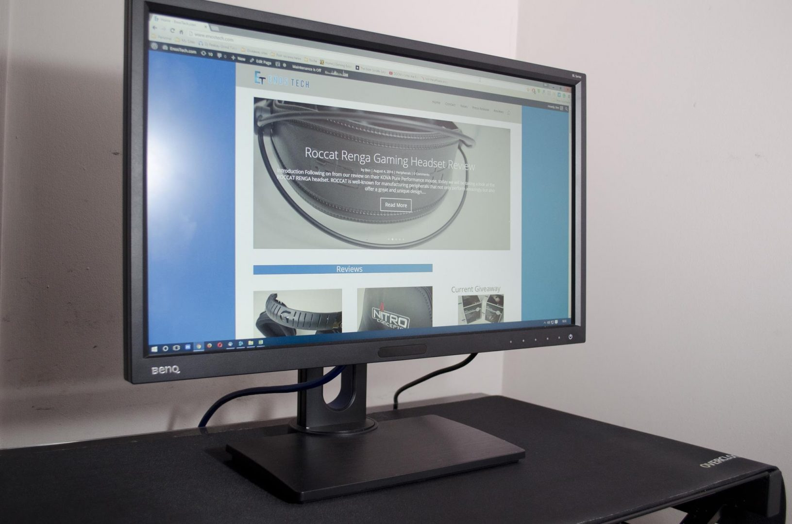 ben q bl2420 monitor review