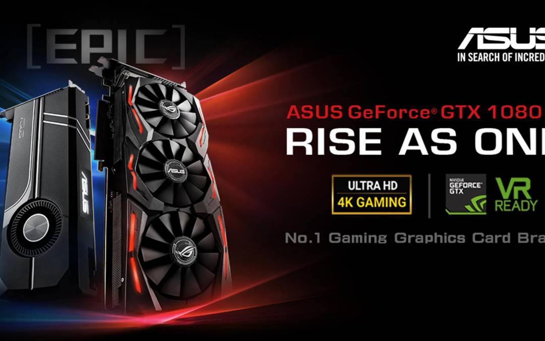 ASUS Republic of Gamers Announces Strix GeForce GTX 1080 Ti