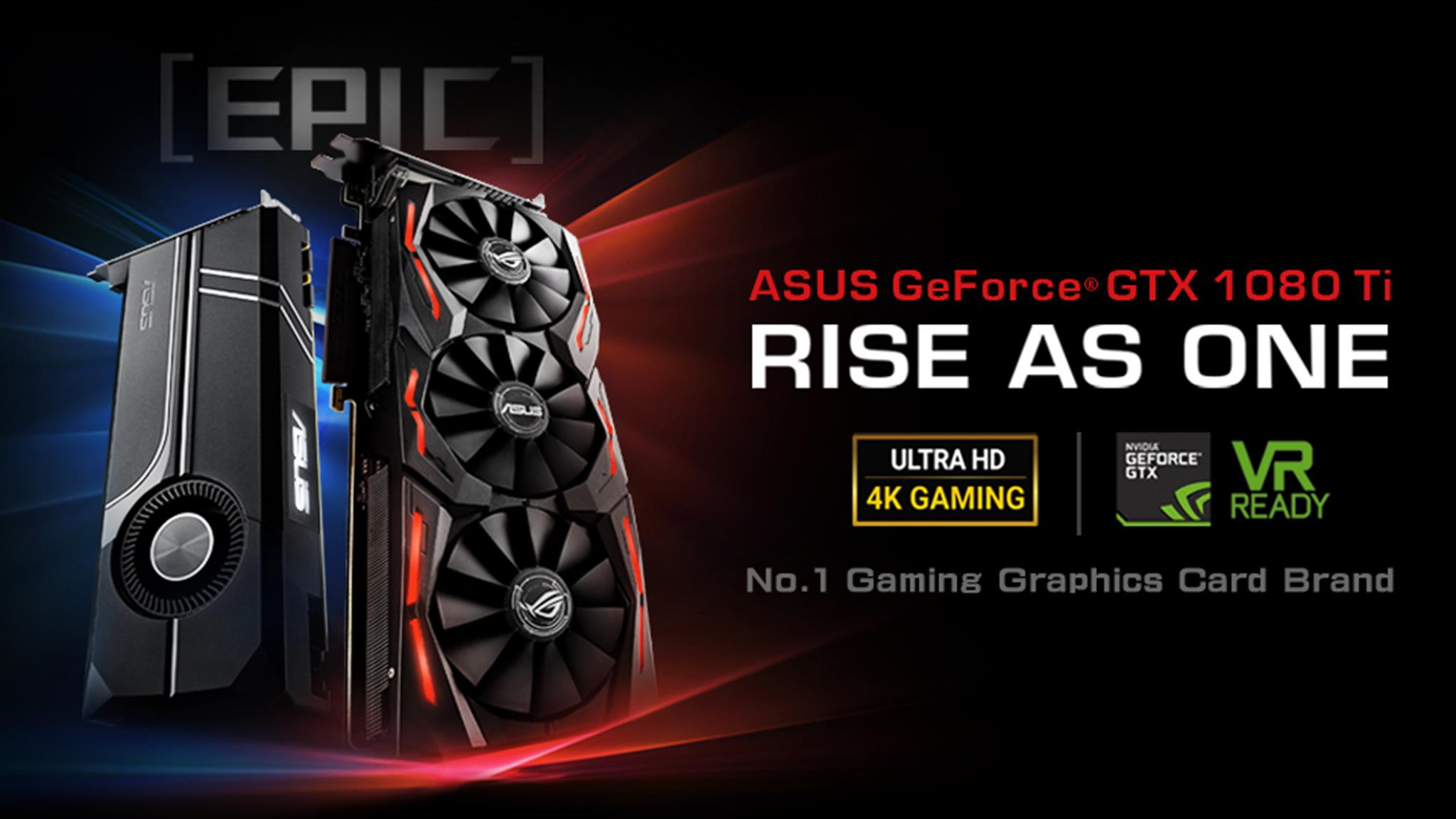 Asus Announces Rog Strix Geforce Gtx 1080 Ti And Turbo