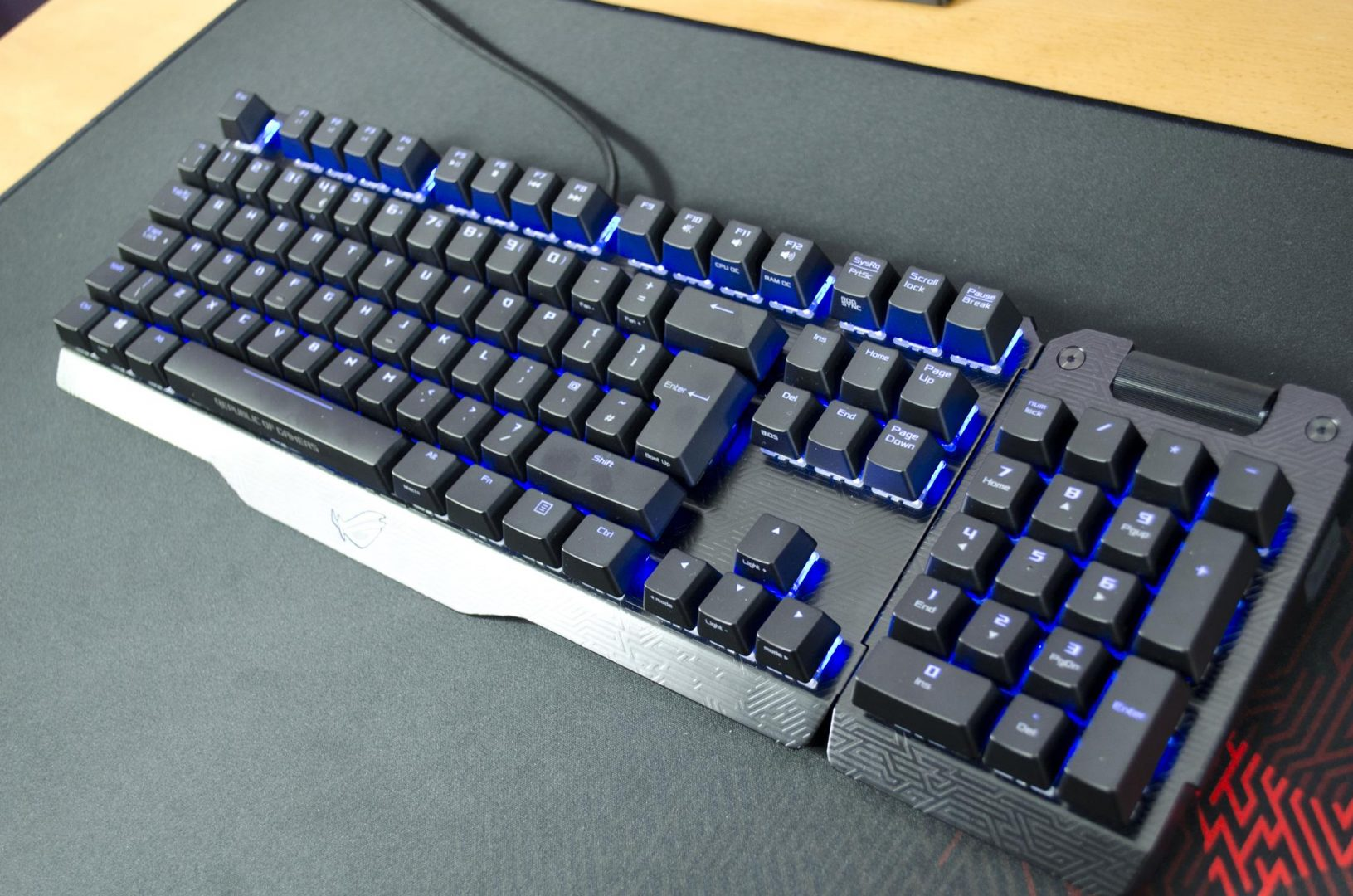 ASUS ROG CLAYMORE mechanical gaming keybaord review