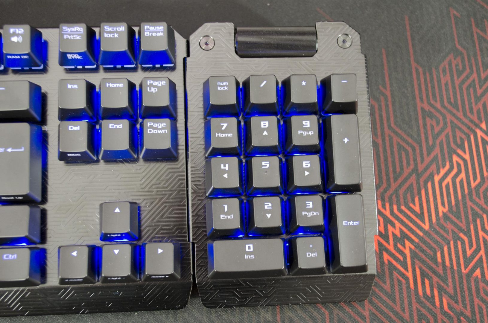 ASUS ROG CLAYMORE mechanical gaming keybaord review_3