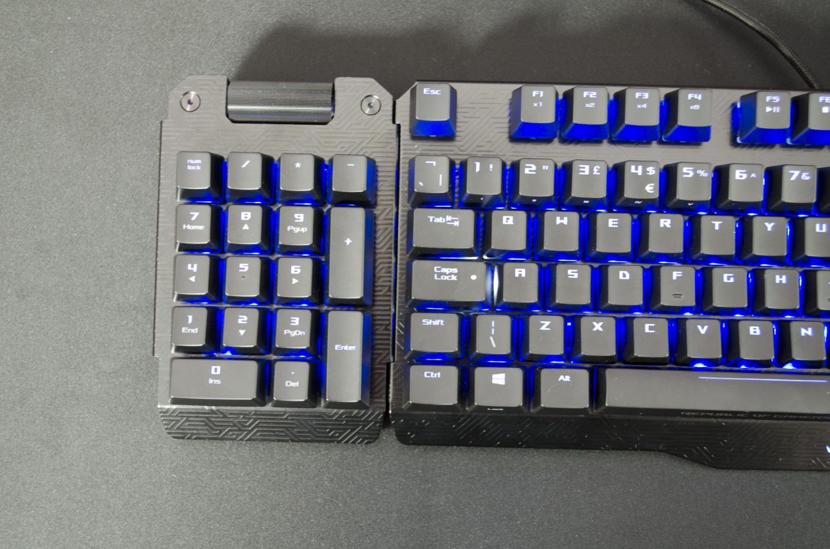 ASUS ROG CLAYMORE mechanical gaming keybaord review_5