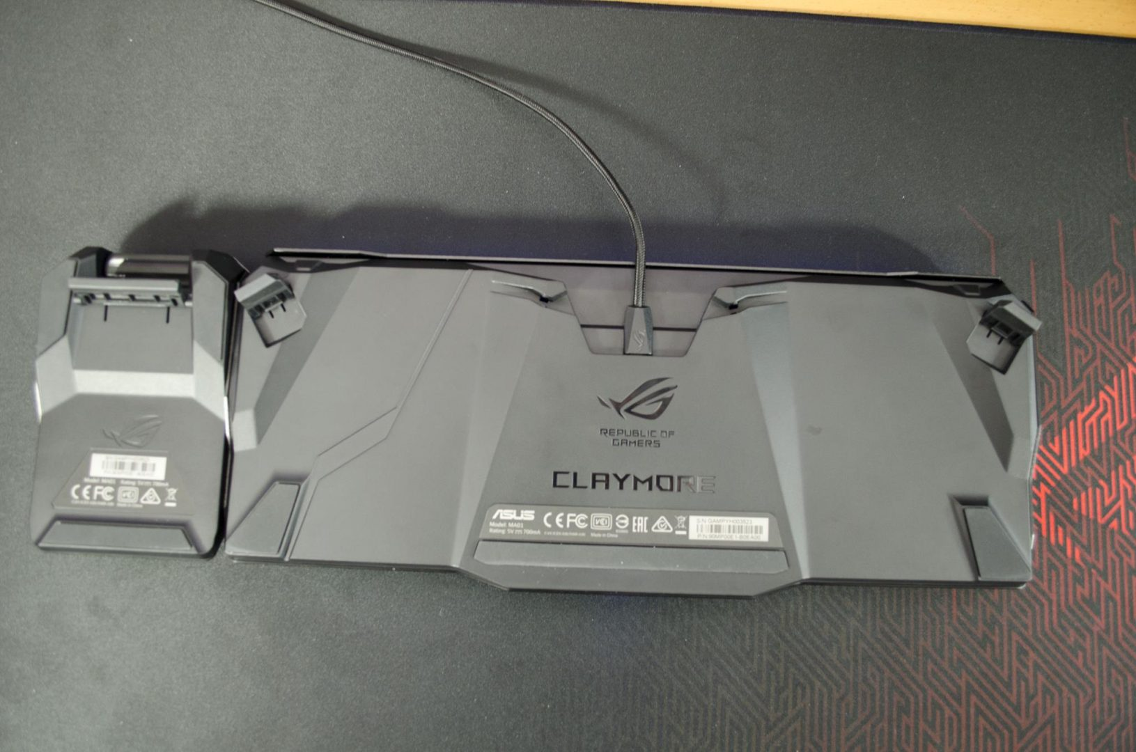 ASUS ROG CLAYMORE mechanical gaming keybaord review_8