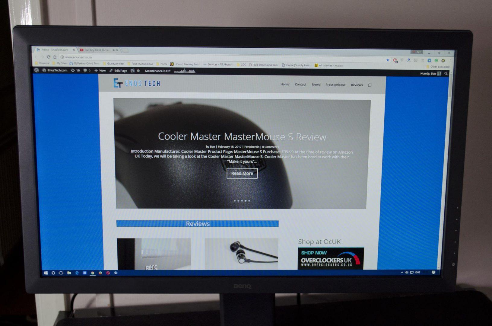BenQ Zowie RL2460B Console Gaming eSports monitor _6