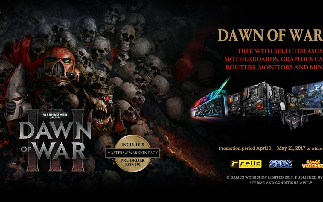 ASUS Announces Dawn of War III Game Bundles