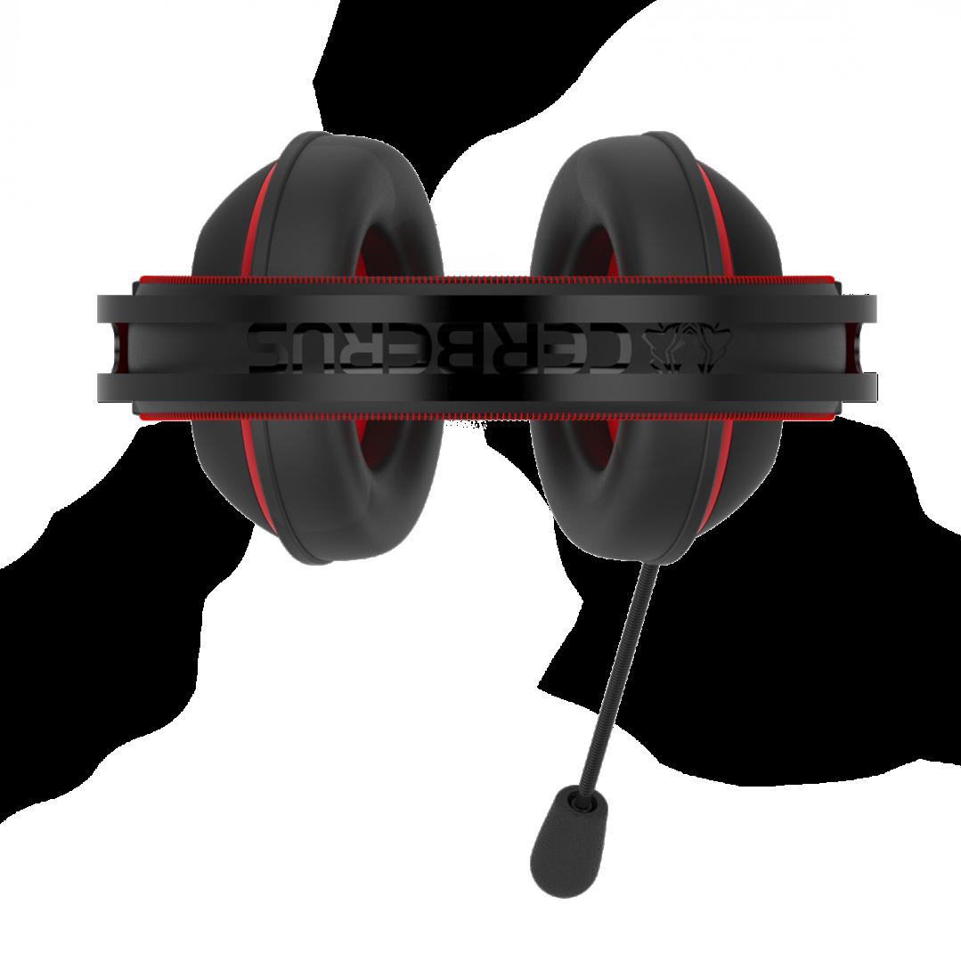Cerberus V2 gaming headset_red_headband-2