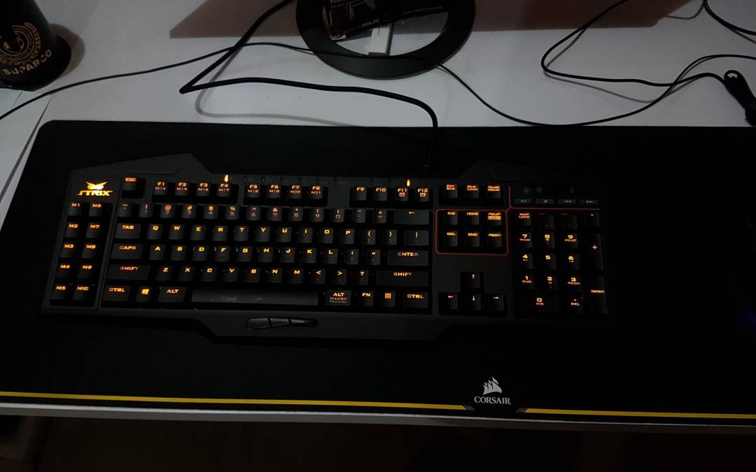 ASUS STRIX Tactic Pro Mechanical Gaming Keyboard Review