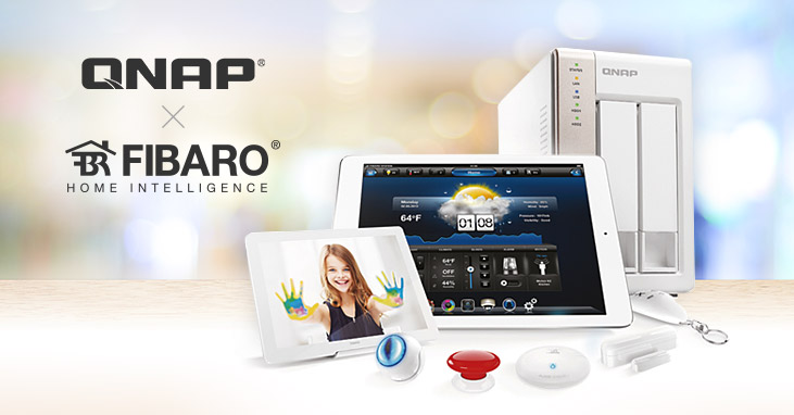 QNAP Starts Cooperation with FIBARO, Providing a Feature-packed Hub for Smart Home Systems