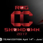 ASUS Republic of Gamers Announces OC Showdown 2017 Team Edition