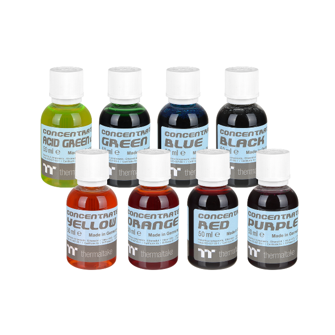 Thermaltake Announces New TT Premium Concentrate Series  and C1000 Pure Clear Coolant