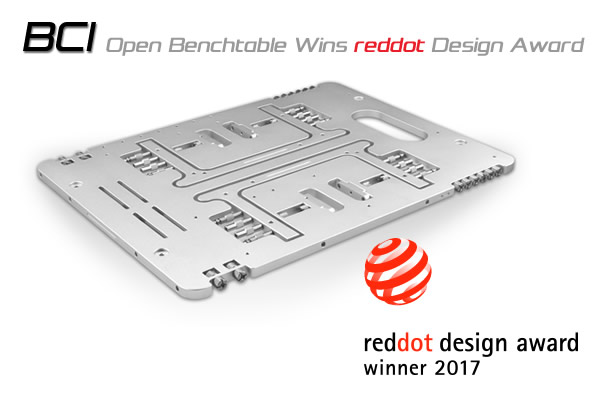 BC1 Wins Red Dot Product Design Award