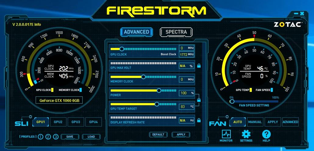 zotac firestorm 1
