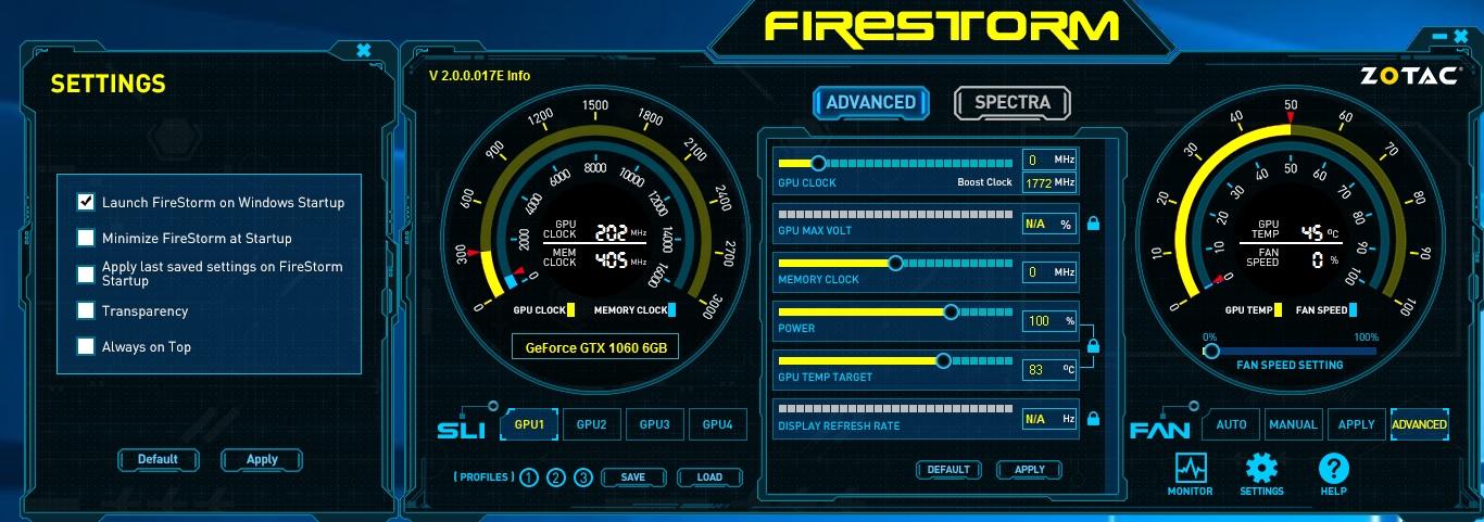 zotac firestorm 3