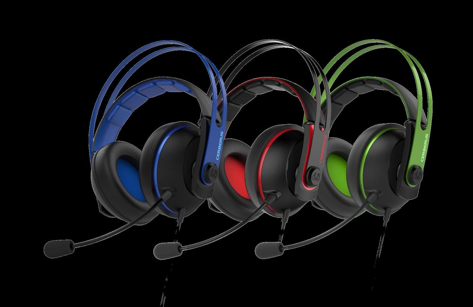 Ceberus V2 gaming headset_3 colors