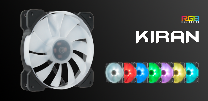 REEVEN Announces Kiran RGB Fans