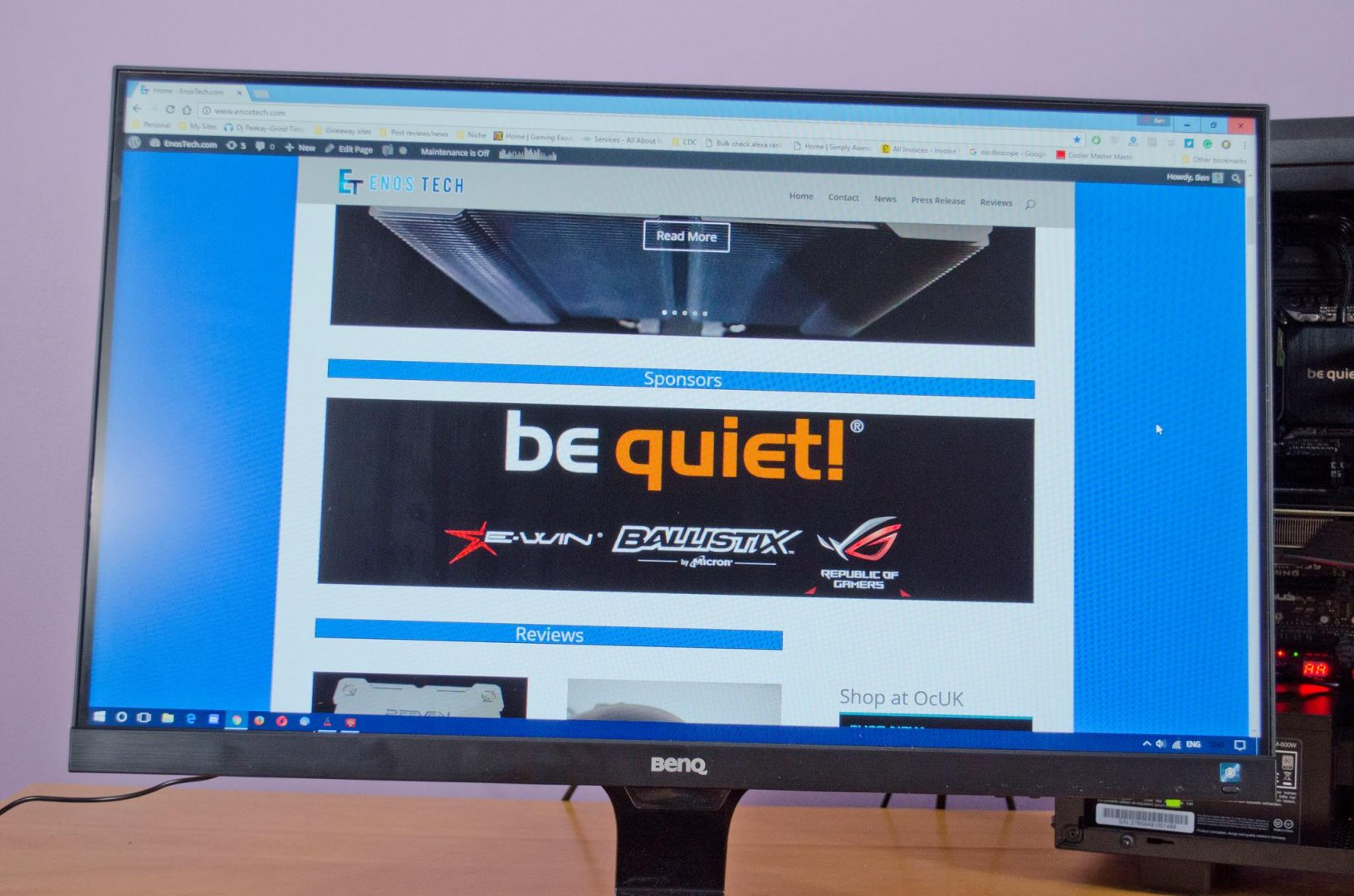 benq ew2775zh monitor review