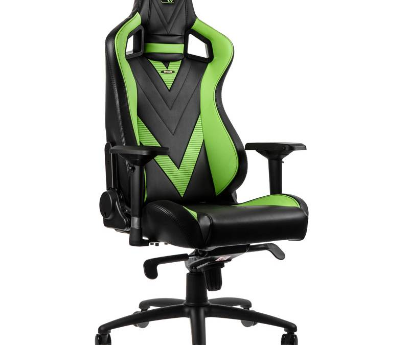 noblechairs Announces GeForce GTX Special Edition EPIC Gaming Chair