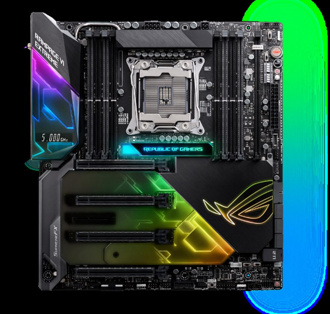 ROG Rampage VI Extreme_2D with Aura