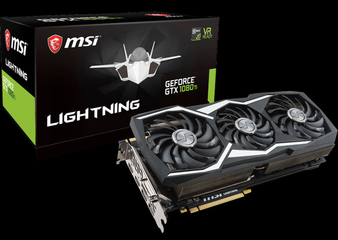 MSI ANNOUNCES GEFORCE® GTX 1080 TI LIGHTNING Z