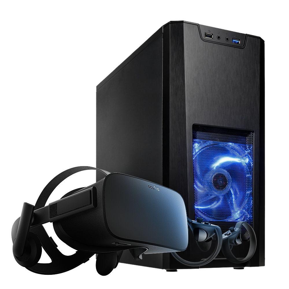 OcUK Gaming Optic Special Edition Gaming PC with Oculus Rift VR Bundle